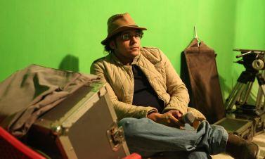 Chakraborty Pritish On The Sets of Mangal Ho